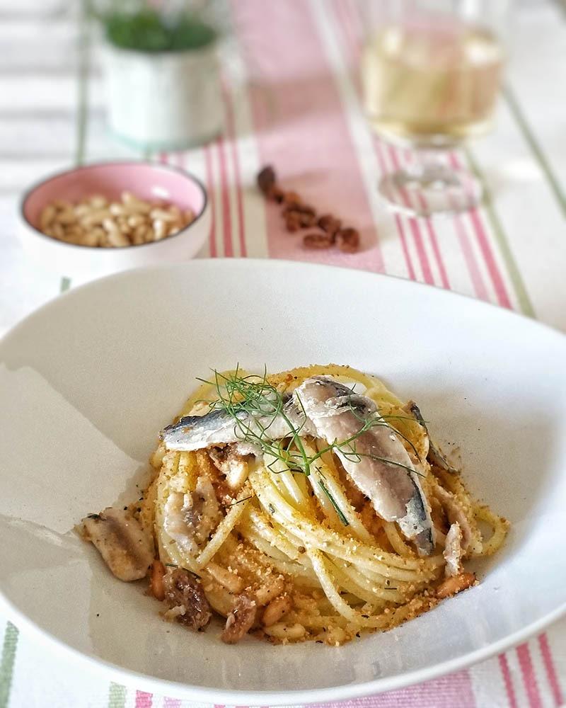 Spaghetti all'acqua di merluzzo